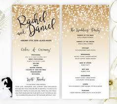 where to print wedding programs wedding programs lemonwedding