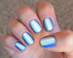ombre u0027 striped nails u2013 a little bit of blonde on site