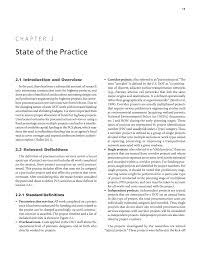 chapter 2 state of the practice estimating highway