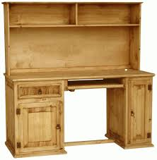 Wood Computer Desks With Hutch by Computer Table Computer Desk Hutch Rustic Wood Distressed