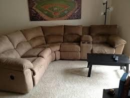 300 obo ashley amazon mocha 2 piece reclining sectional sofa for
