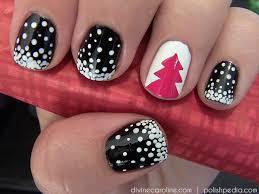 christmas tree nail art design more com