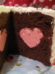 Wilton Cake Decorating Ideas Bakes Wilton Heart Tasty Fill Cake A