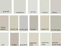 benjamin moore light gray colors paint benjamin moore greige shades gray owl moonshine horizon