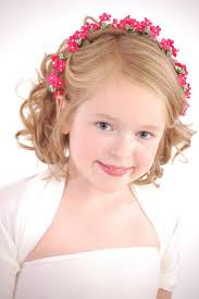 wedding hairstyles for kids girls