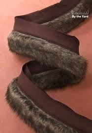 simplicity creative 2 mink faux fur with lip sewing