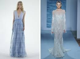 blue wedding dresses 2015 wedding trend blue silver wedding dresses southbound