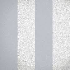glitter broad stripe silver grey wallpaper by albany salon