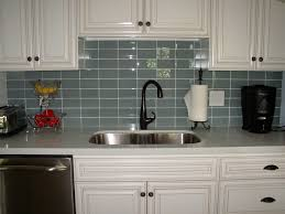 white glass tile backsplash kitchen backsplash ideas outstanding glass tile for backsplash blue glass