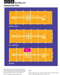Baltimore Convention Center Floor Plan Boston Apartments In Back Bay Ma Ava Back Bay