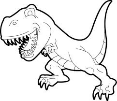kidscolouringpages orgprint u0026 download simple t rex coloring