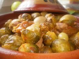 cuisiner choux tajine aux choux de bruxelles aux delices du palais