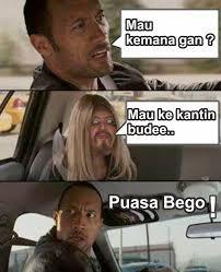 Ramadhan Meme - meme comic versi ramadhan asal tau