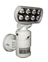 Led Security Lights Versonel Nightwatcher Pro Led Security Motion Tracking Light W