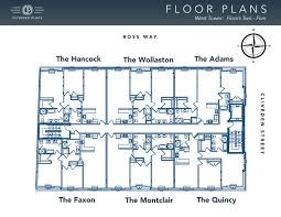 floor plan for new homes cliveden place quincy massachusetts floor plans