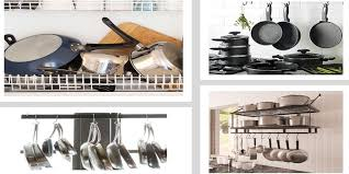 how to organize pots and pans in a cupboard 7 diy hacks to organize kitchen cabinets pots and pans