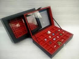 box cincin jual beli box cincin akik warna hitam dalam merah
