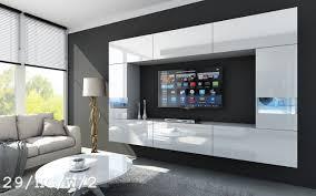 Led Beleuchtung Wohnzimmerschrank Future 29 Wohnwand Anbauwand Wand Schrank Tv Schrank