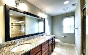 large bathroom mirrors ideas framed bathroom mirrors ideas large and remarkable within remodel
