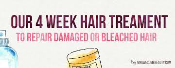 rescue bleached hair how to repair bleached hair fast and safely