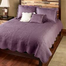 Solid Color Quilts And Coverlets Venice Squares Solid Color Quilt Bedding