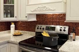 copper backsplash kitchen hammered copper backsplash kitchen great home decor