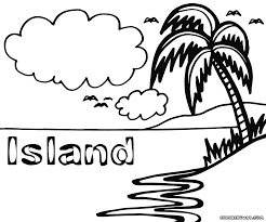 coloring island coloring pages