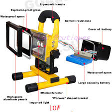10w rechargeable flood light best price 10w rechargeable led flood lighting rechargeable led