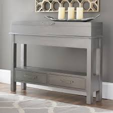 Entrance Tables Furniture Console Tables Grey Narrow Depth Console Table Narrow Depth