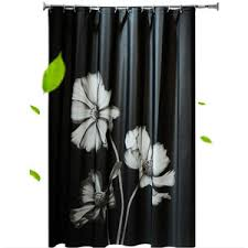Green And Brown Shower Curtains Green And White Tree Patterned Beautiful Shower Curtains