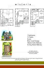 Wisteria Floor Plan Rosewood Homes Atl Properties