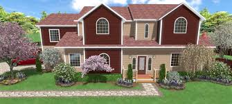 House Plans With Landscaping by Home Landscaping Software