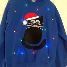 sweaters that light up best light up sweater products on wanelo
