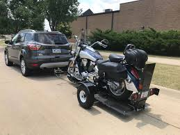 searching for a single rail motorcycle trailer harley davidson