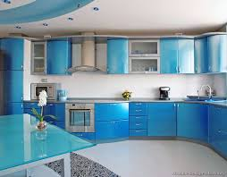 beautiful blue kitchen design ideas furniture nice blue kitchen cabinets modern with blue glass table
