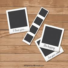 design templates photography free photo frame mockups polaroid style frames collection vector free download