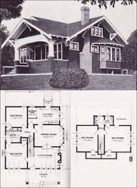 1920s craftsman bungalow house plans 1920 original pinterest