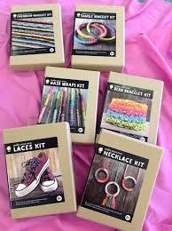 bead bracelet kit images Make your own craft kits friendship bead bangle bracelet hair jpg
