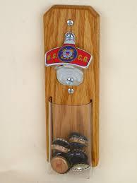 unique wall mounted bottle openers us coast guard wall mount bottle opener