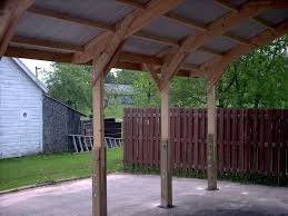 Attached Carport Designs by Wood Work Attached Carport Plans Pdf Loversiq