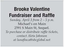 valentine raffle tickets never saw it coming brooke valentine story u2014 tpg inc