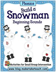 thanksgiving rhyme build a snowman activities for rhyme and beginning sounds make