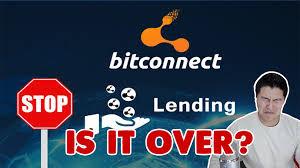 bitconnect good or bad bitconnect closing its lending platform rip wallets