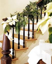 Ideas For Decorating A Home 128 Best Christmas Staircase Decorations Images On Pinterest