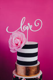 how to your cake topper express your with this calligraphy based cake topper adds a
