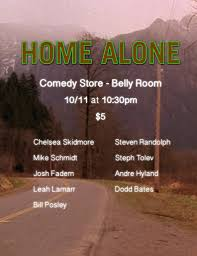 home alone tickets the belly room the comedy store hollywood