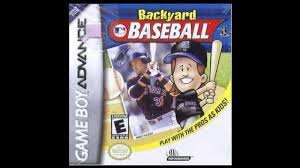 backyard baseball gameboy advance complete soundtrack ost youtube