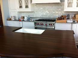 Installing Kitchen Tile Backsplash by Countertops Kitchen Wood Countertop Counter Tops Used Granite