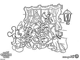 free coloring pages disney christmas cartoon 496187 coloring