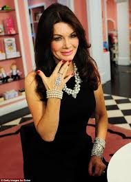 evine live lisa robertson lisa vanderpump sparkles in silver and pearls to promote new jewelry